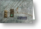 Starlet Greeting Cards - Hollywood Pumps Greeting Card by Mike Cavanaugh