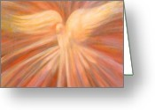 Holy Spirit Greeting Cards - Holy Spirit Appearing As A Dove Greeting Card by Kip Decker