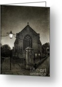 Bradford Greeting Cards - Holy Trinity Church Bradford on Avon England Greeting Card by Ann Garrett
