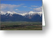 Bison Range Greeting Cards - Home Is Where The Heart Is Greeting Card by Katie LaSalle-Lowery