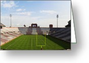 Bleachers Greeting Cards - Home Of The Sooners Greeting Card by Ricky Barnard