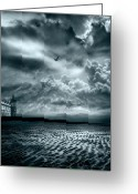 Sky Greeting Cards - Home Greeting Card by Photodream Art