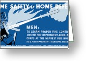 Second Greeting Cards - Home Safety Is Home Defense Greeting Card by War Is Hell Store