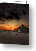Featured Greeting Cards - Home to Derek Jarman Greeting Card by Lee-Anne Rafferty-Evans