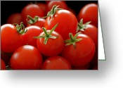 Photographic Art Greeting Cards - Homegrown Tomatoes Greeting Card by Rona Black