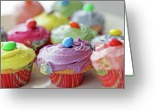 Choice Greeting Cards - Homemade Cupcakes Greeting Card by Richard Newstead