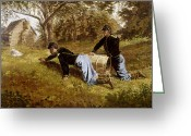 Winslow Homer Greeting Cards - HOMER: YORKTOWN, c1863 Greeting Card by Granger
