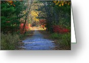 Neal Eslinger Greeting Cards - Homeward Bound Greeting Card by Neal  Eslinger