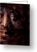 Blues Greeting Cards - Hoochie Coochie Man Greeting Card by Paul Lovering