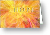 Christian Chapman Greeting Cards - Hope Greeting Card by Margie Chapman