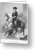 Autograph Photo Greeting Cards - HORATIO GATES (c1728-1806) Greeting Card by Granger