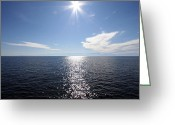 Daniel Krause Greeting Cards - Horizon Greeting Card by Daniel Krause