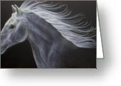 Horse Greeting Cards - Horse Greeting Card by Susan Kissinger
