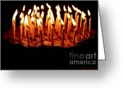 Susan M. Smith Greeting Cards - Hot Chocolate Greeting Card by Susan Smith