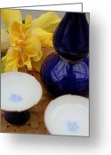 James Temple Greeting Cards - Hot Sake For Two Greeting Card by James Temple