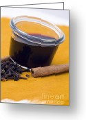 Cinnamon Greeting Cards - Hot spiced wine Greeting Card by Frank Tschakert