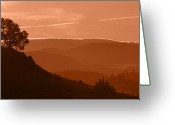 Kamloops Greeting Cards - Hot Times Greeting Card by Peter Olsen