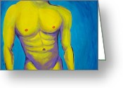 Hottie Greeting Cards - Hottie Greeting Card by Randall Weidner
