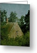 Nestled In Greeting Cards - House In The Trees Greeting Card by Odd Jeppesen
