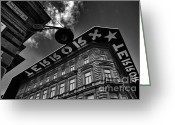 Nazi Greeting Cards - House of Terror Greeting Card by Madeline Ellis