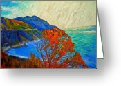 African Mountain Greeting Cards - Hout Bay Greeting Card by Michael Durst