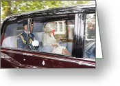 Kg Greeting Cards - HRH Prince Charles and Camilla Greeting Card by KG Thienemann