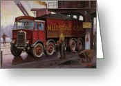 Coal  Greeting Cards - Hudsons coal. Greeting Card by Mike  Jeffries