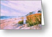 Hull Ma Greeting Cards - Hulls Splendor Greeting Card by Laura Lee Zanghetti