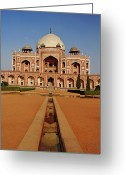 World Series Greeting Cards - Humayuns Tomb Greeting Card by Adam Jones