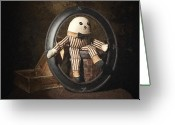 Bowtie Greeting Cards - Humpty Dumpty Greeting Card by Tom Mc Nemar