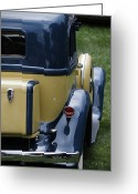 Antique Automobile Greeting Cards - Hupmobile Greeting Card by Dennis Hedberg