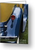 Antique Automobile Greeting Cards - Hupp Greeting Card by Dennis Hedberg