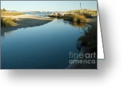 Cape Cod Greeting Cards - Hyannis Bay Greeting Card by Frank Garciarubio