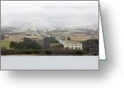 Hydroelectric Greeting Cards - Hydroelectric Power Station, Scotland Greeting Card by Colin Cuthbert