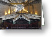 Hydroelectric Greeting Cards - Hydroelectric Power Station Turbine Greeting Card by Ria Novosti