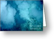 Co2 Greeting Cards - Hydrothermal Smoker Vent Greeting Card by Science Source