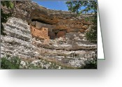 Native Architecture Greeting Cards - I am Aztec Greeting Card by Christine Till