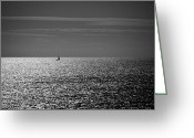 Waikiki Beach Greeting Cards - I am sailing Greeting Card by Ralf Kaiser