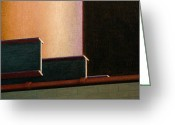 Photorealism Greeting Cards - I-beam Greeting Card by Norm Holmberg