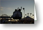 Elephant Ride Greeting Cards - I Can Fly Greeting Card by Cija  Tuttle