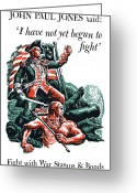 Warishellstore Greeting Cards - I have Not Yet Begun To Fight Greeting Card by War Is Hell Store