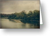 Sacramento River Greeting Cards - I Keep On Living Without You Greeting Card by Laurie Search