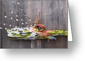 Fish Sculpture Greeting Cards - I Love Fish Greeting Card by Krista Ouellette