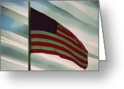Pledge Of Allegiance Greeting Cards - I Pledge Allegiance Greeting Card by Patricia Erwin