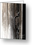 Dark Gray Dark Grey Greeting Cards - I Promise Greeting Card by Angie Rea