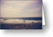 Pacific Ocean Photo Greeting Cards - I Want to Swim in the Ocean with You Greeting Card by Laurie Search
