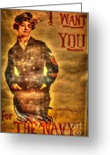 I Want You Greeting Cards - I Want You Greeting Card by Dan Stone