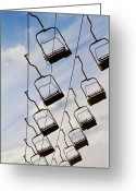 Gondola Photo Greeting Cards - I Went To The Fair Greeting Card by Rebecca Cozart