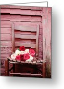 Chic Greeting Cards - I will be waiting Greeting Card by Kim Fearheiley