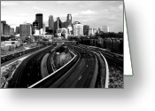 Interstate Greeting Cards - Ice City Greeting Card by Chris Coward